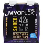 EAS Shred Muscle Mocha EAS Myoplex Shred Protein Shake Muscle Mocha Ready-to-Drink Bottles