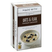 Made With Oatmeal, Instant, Oats & Flax