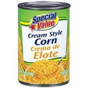 Special Value Cream Style Corn