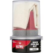 Kiwi Shoe Polish Kit Black