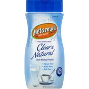 Metamucil Fiber Supplement, Clear-Mixing Powder