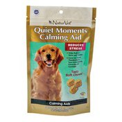 NaturVet Quiet Moments Calming Aid Tasty Soft Chews For Dogs