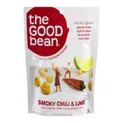 The Good Bean All Natural Chickpea Snacks! Smoky Chili & Lime