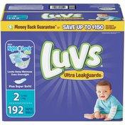 Luvs Ultra Leakguards Diapers Size 2