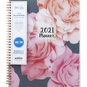 Blue Sky Planner, Tabbed, 2021, Weekly+Monthly