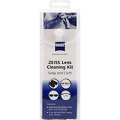 Zeiss Lens Cleaning Kit, Spray and Cloth