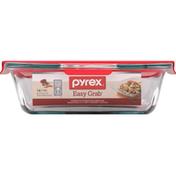 Pyrex Baking Dish, Glass, 2 Qt