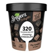 Breyers Low Fat Ice Cream Creamy Chocolate