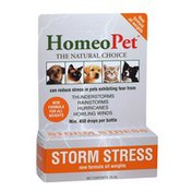 HomeoPet Storm Stress Fast Acting Liquid For Dogs