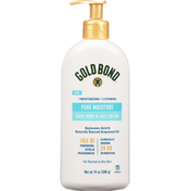 Gold Bond Body & Face Lotion, Daily, Pure Moisture