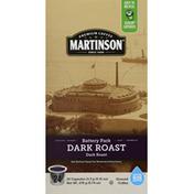 Martinson Coffee, Ground, Dark Roast, Battery Park, Capsules