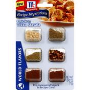 McCormick® Spices & Recipe Card, Pre-Measured, Chicken Tikka Masala