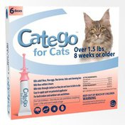 Catego Flea & Tick Control for Cats Over 1.5 Pounds