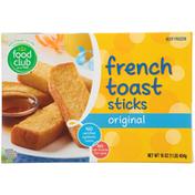 Food Club Original French Toast Sticks