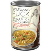 Wolfgang Puck Chicken with Egg Noodles Organic Soup