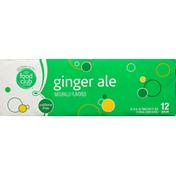 Food Club Ginger Ale, 12 Pack