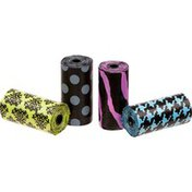 Bags On Board Fashion Doggie Clean Up Bags Refill Rolls 120 Bags
