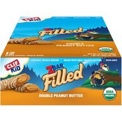CLIF Kid Filled Organic Double Peanut Butter Baked Energy Bars