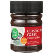 Food Club Classic Roast 100% Instant Coffee