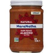 Maranatha No Stir Creamy Natural Dark Roast Almond Butter