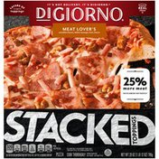 DiGiorno STACKED TOPPINGS Meat Lover's Frozen Pizza