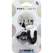 PopSockets PopMount 2, Black, Car Vent