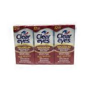 Clear Eyes Maximum Redness Relief Plus Relieves