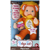 Babys First Doll, Sing & Learn