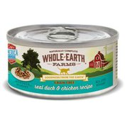 Whole Earth Farms Grain Free Real Morsels in Gravy Duck & Chicken Cat Wet Food