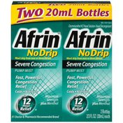 Afrin No Drip Severe Congestion Pump Mist Nasal Decongestant