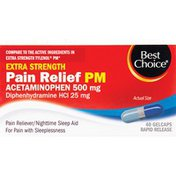 Best Choice Non Aspirin PM Gelcaps
