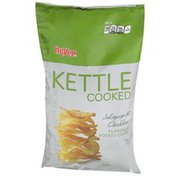 Hy-Vee Kettle Cooked Potato Chips, Jalapeno & Cheddar