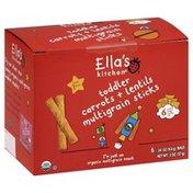 Ella's Kitchen Multigrain Sticks, Carrots + Lentils, Toddler (from 1 Year)