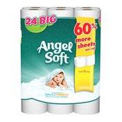 Angel Soft Toilet Paper, 24 Big Rolls, Bath Tissue