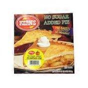 Kern's Thaw & Serve No Sugar Added Pumpkin Pie