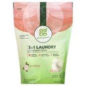 Grab Green Laundry Detergent, 3 in 1, Pods, Gardenia