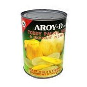 Aroy-D Toddy Palm's Seeds & Jackfruit in Syrup