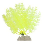 GloFish Aquarium Plant - Fluorescent Yellow - Small