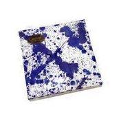 Caspari Splatterware Paper Cocktail Napkins in Blue