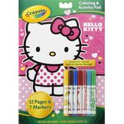 Crayola Coloring & Activity Pad, Hello Kitty