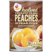 SB Peach Halves, Yellow Cling