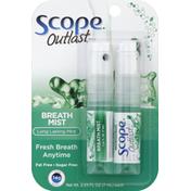 Scope Breath Mist, Long Lasting Mint