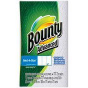 Bounty Basic Select-A-Size Paper Towels, White, 1 Roll Towels/Napkins