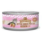 Merrick 24 of pack Purrfect Bistro Grain Free Kitten Dinner Pate Wet Cat Food