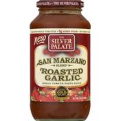 The Silver Palate Pasta Sauce, Whole Tomato, San Marzano Blend, Roasted Garlic