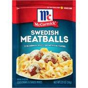 McCormick® Swedish Seasoning & Sauce Mix