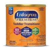Enfagrow® PREMIUM Non-GMO Toddler Transitions Formula - Powder can