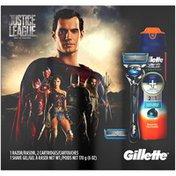 Gillette Justice League 4 pc Razor Kit