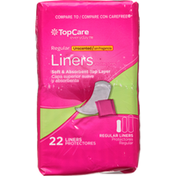 TopCare Liners, Regular, Unscented