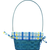 Publix Bamboo Basket with Liner, Small